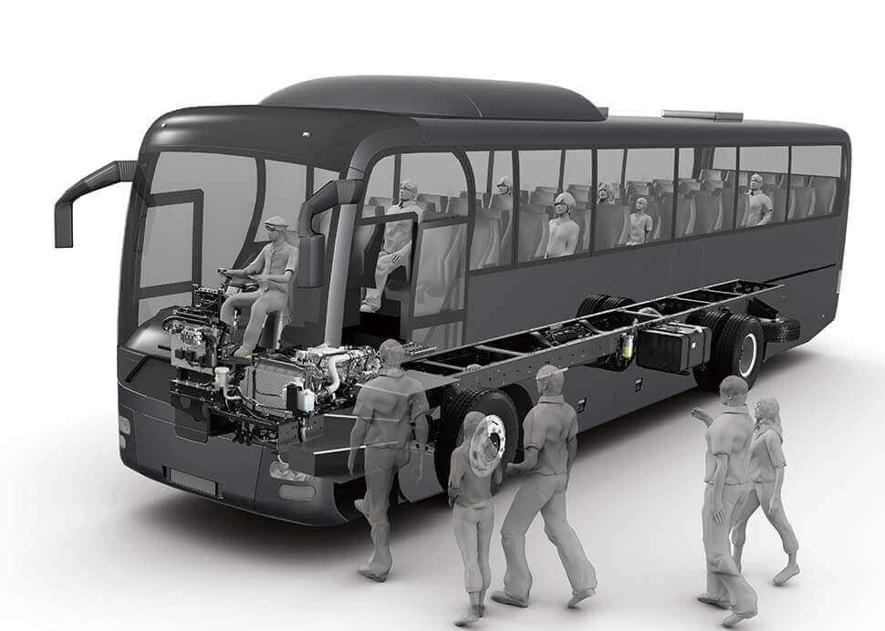 bus chevrolet render
