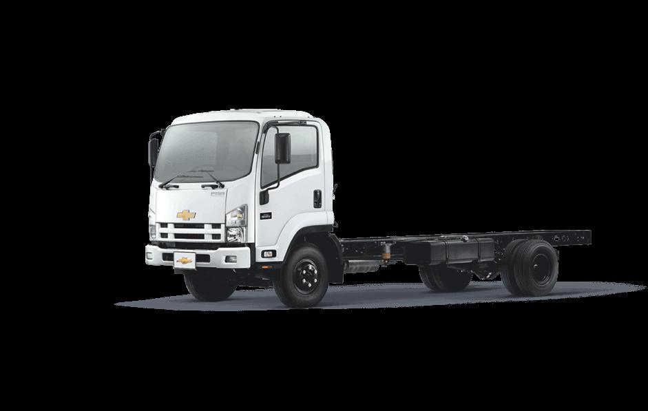 camion de chevrolet con fondo blanco