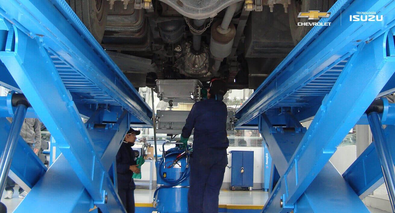 mecanicos de buses y camiones