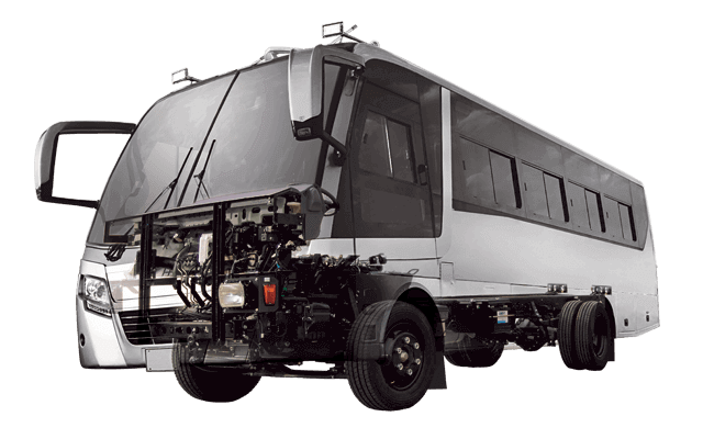 motor de bus de chevrolet