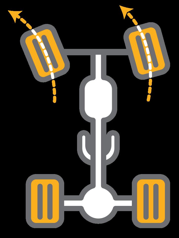 icono de chasis para buses y camiones