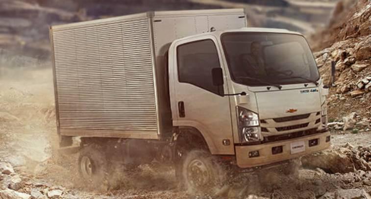 Camión NPS 4x4 | Buses y camiones Chevrolet