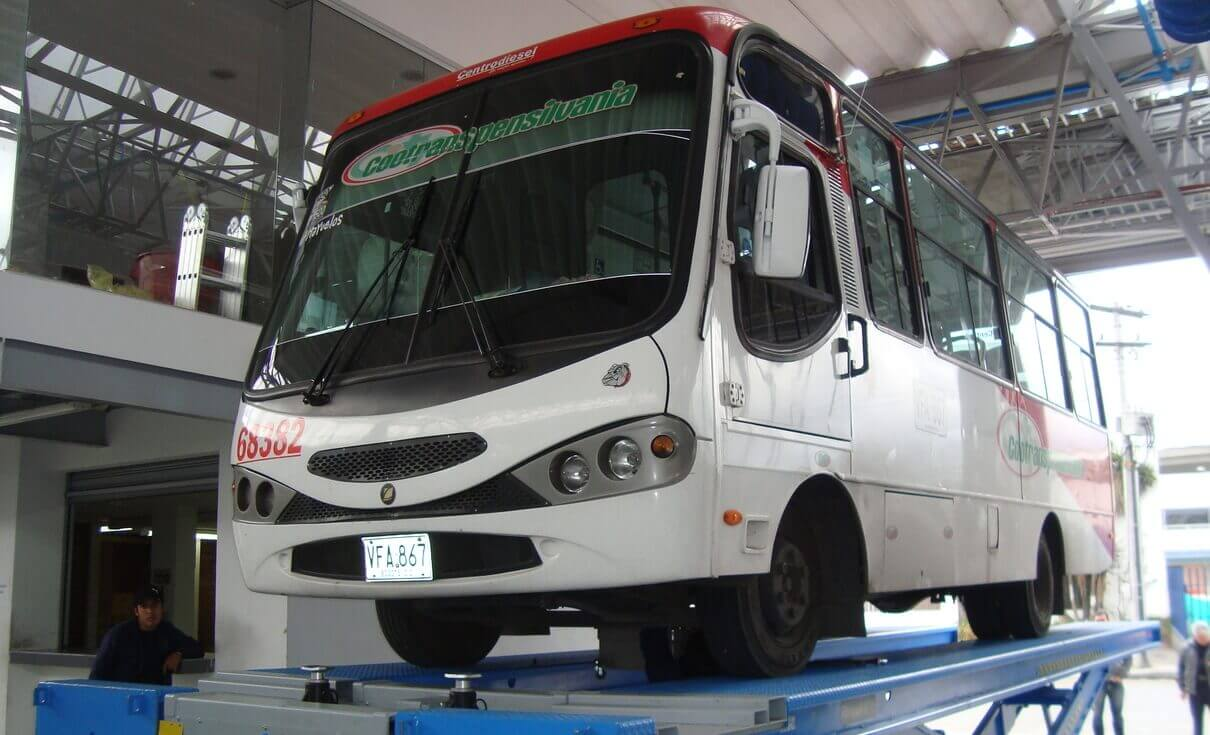 Bus Chevrolet, calidad y seguridad